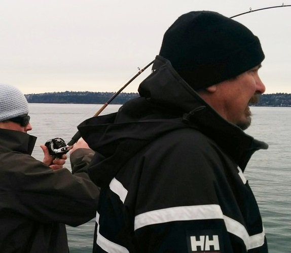 About captain carl fishing in seattle for Fishing charters seattle