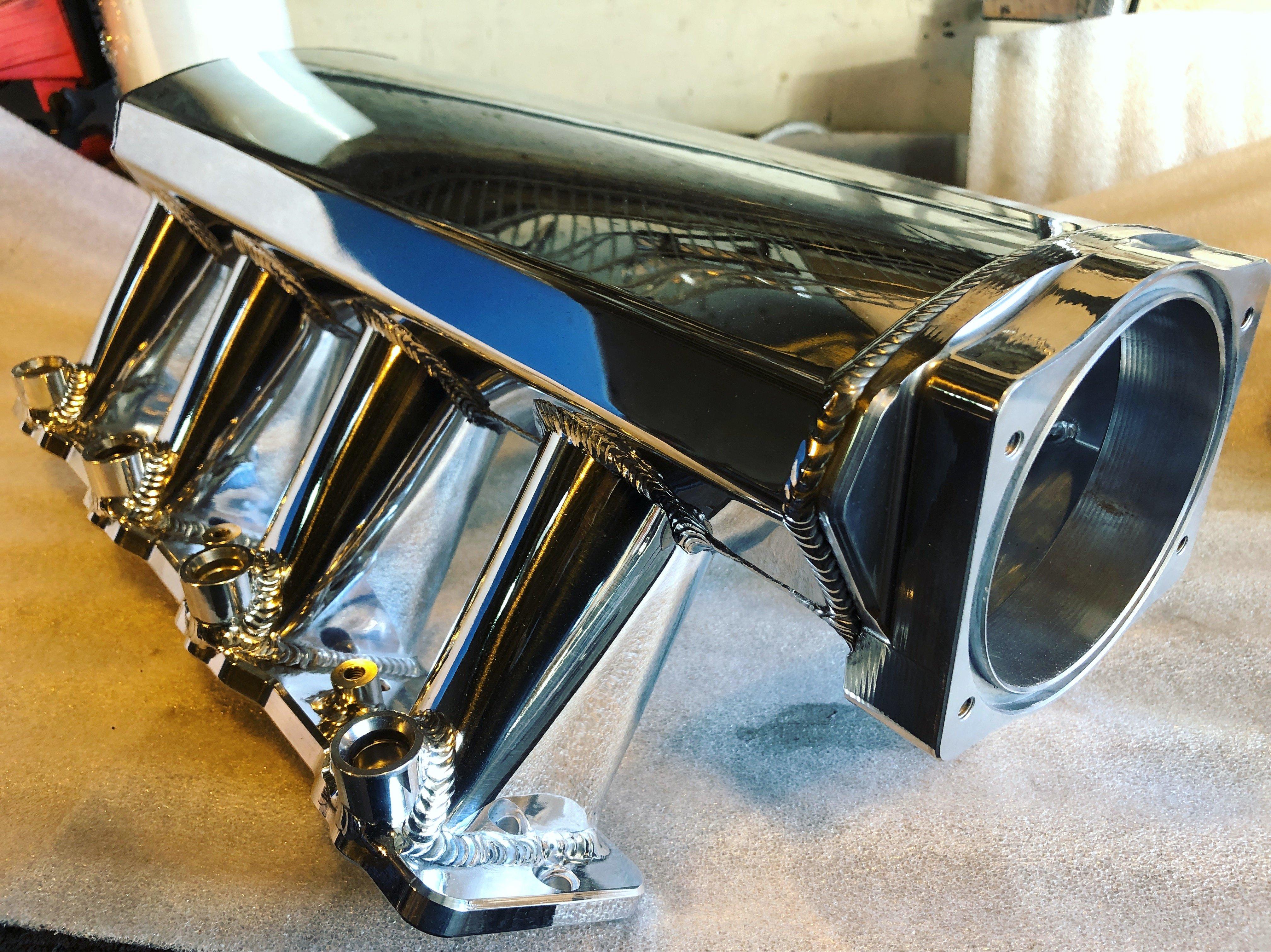 Chevy LS Polish Intake Manifold