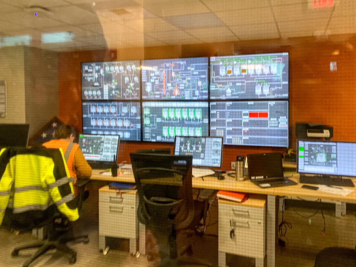 Control Room - Bulleit Distillery - Bulleit Visitor Experience