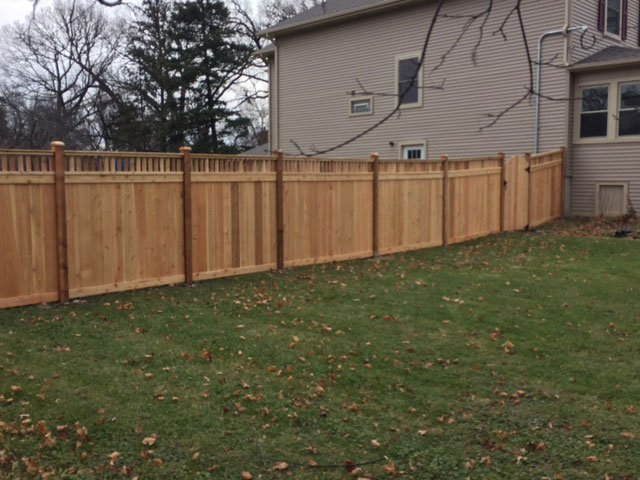 Custom Spindle Top Fence