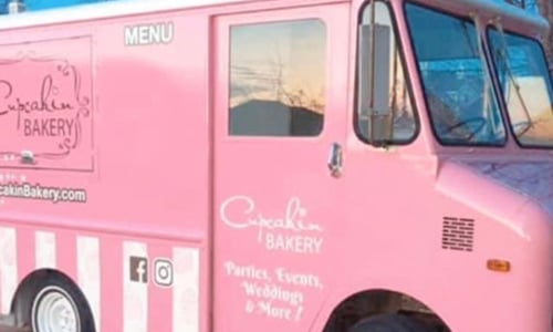 The Pink Cupcake Truck