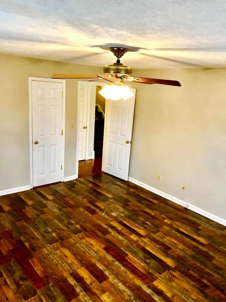 Room Remodel with Flooring Installation and Trim 1