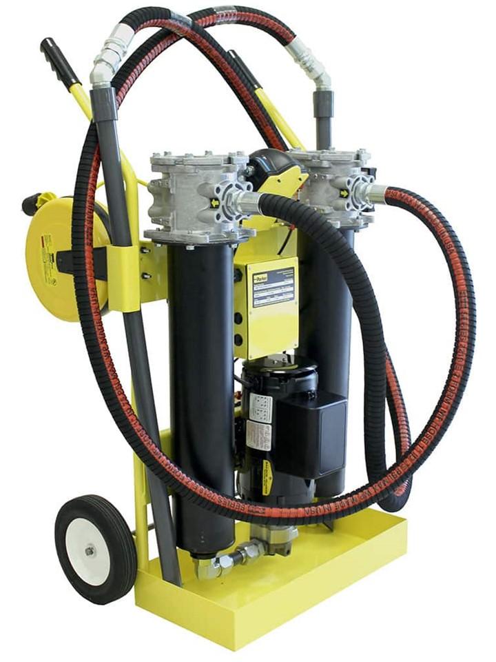 Filtración de aceite de unidades hidráulicas