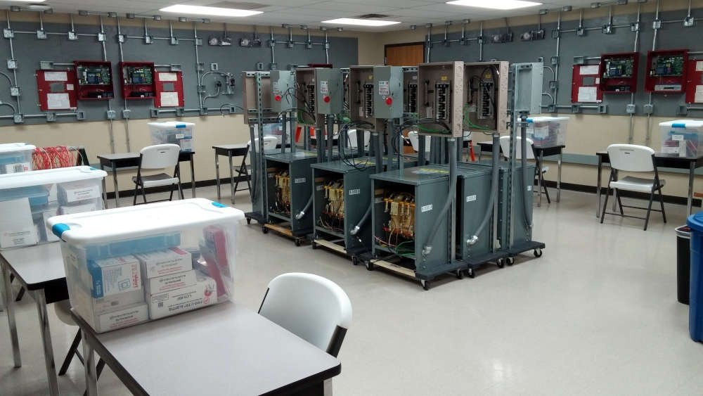 Fire Alarm & Transformers Lab