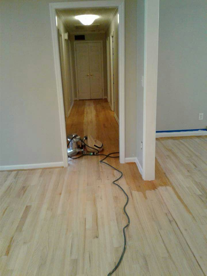 Floor Polishing Process