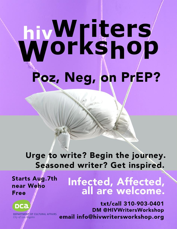 Writers Workshop Openings