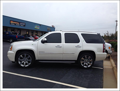 Russo S Tinting Inc In Denver Nc Shows You Examples Of