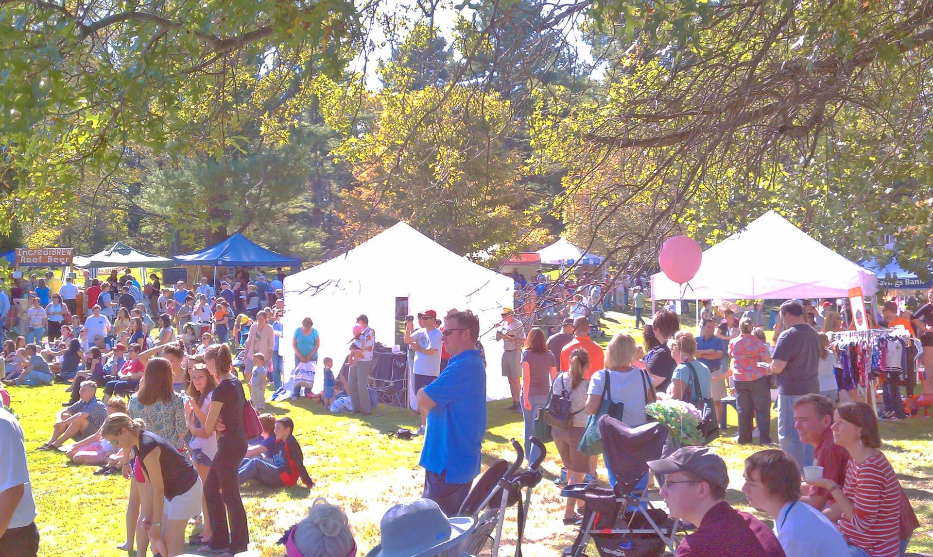 Groton Fest Goers