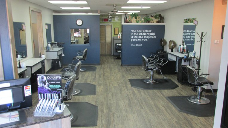 Inside View of Salon