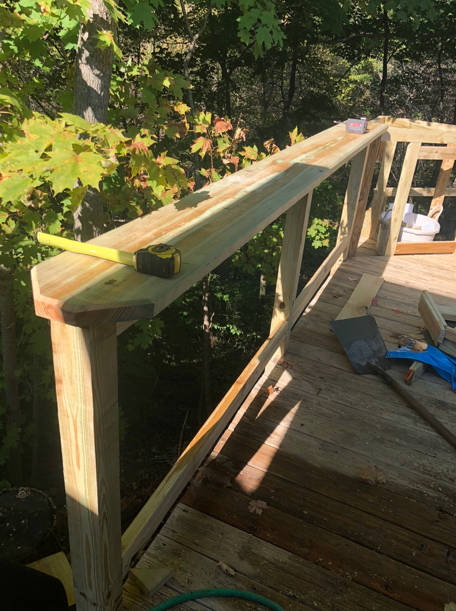 Ongoing Railing Installation