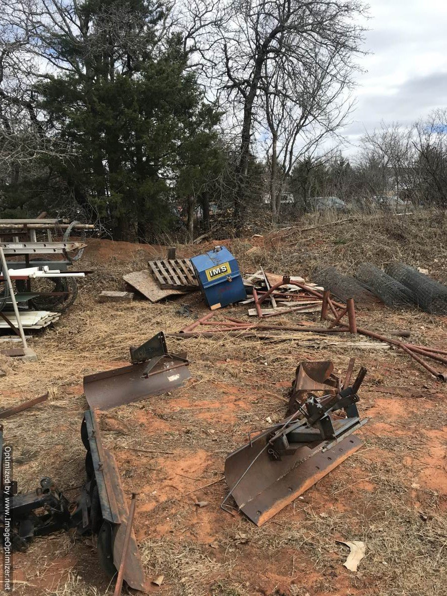 Bidder-Up Auctioneers - April 13 - Rupe Construction- Rain