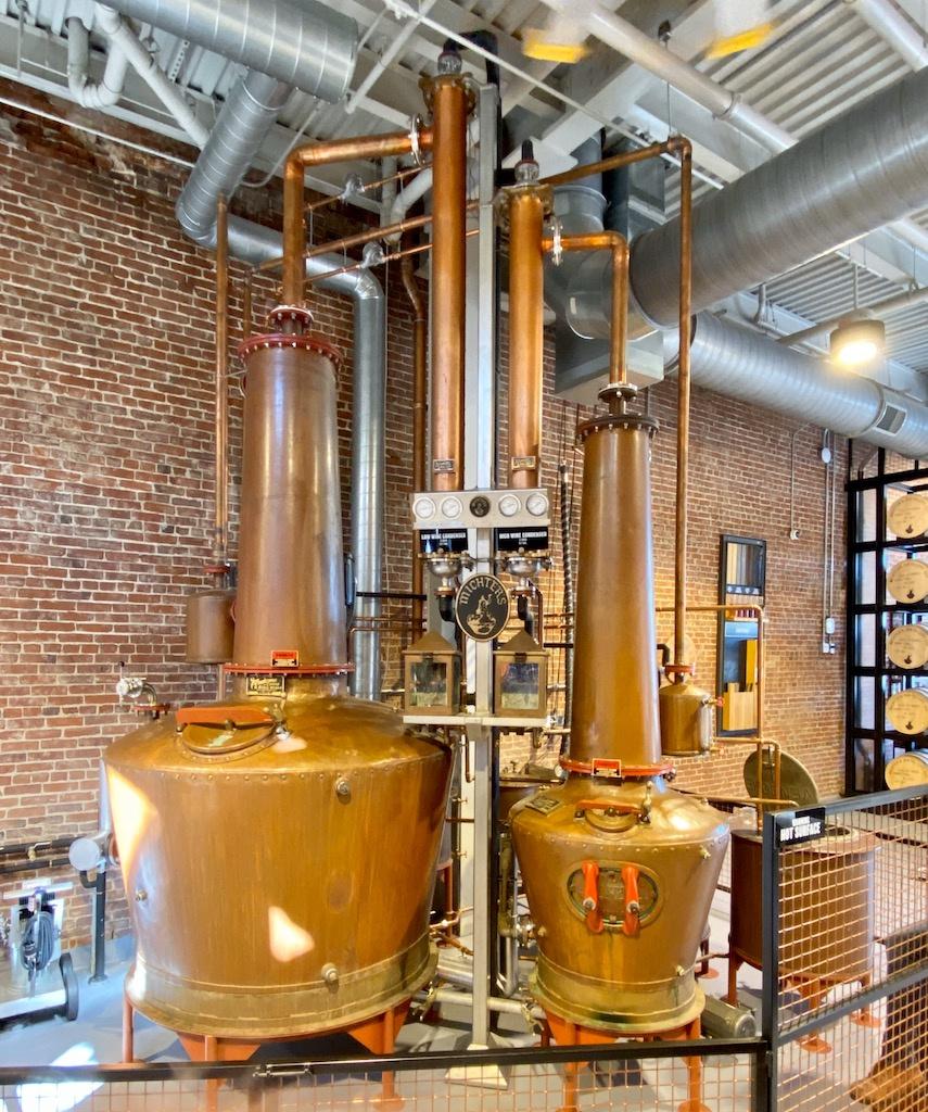 Pot Stills - Michter's Distillery