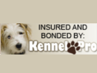 Kennel Pro Insured and Bonded