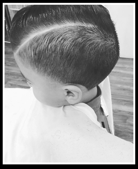 Kid's Hairstyle Side View