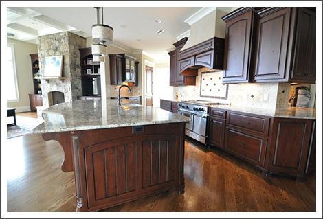Image of kitchen layout||||