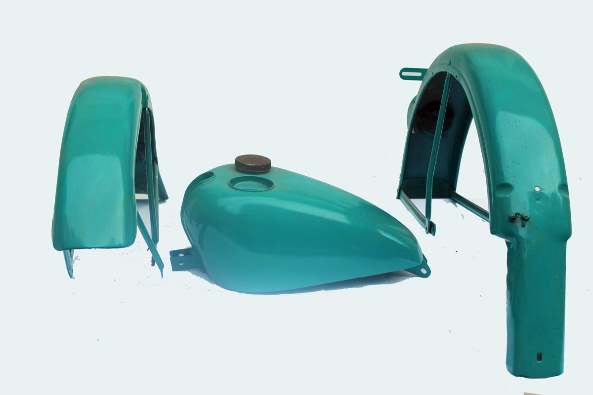 Motorcycle Gas Tank & Fenders