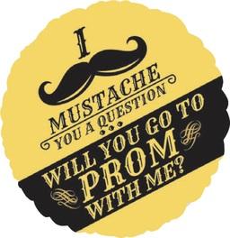 Mustache Prom