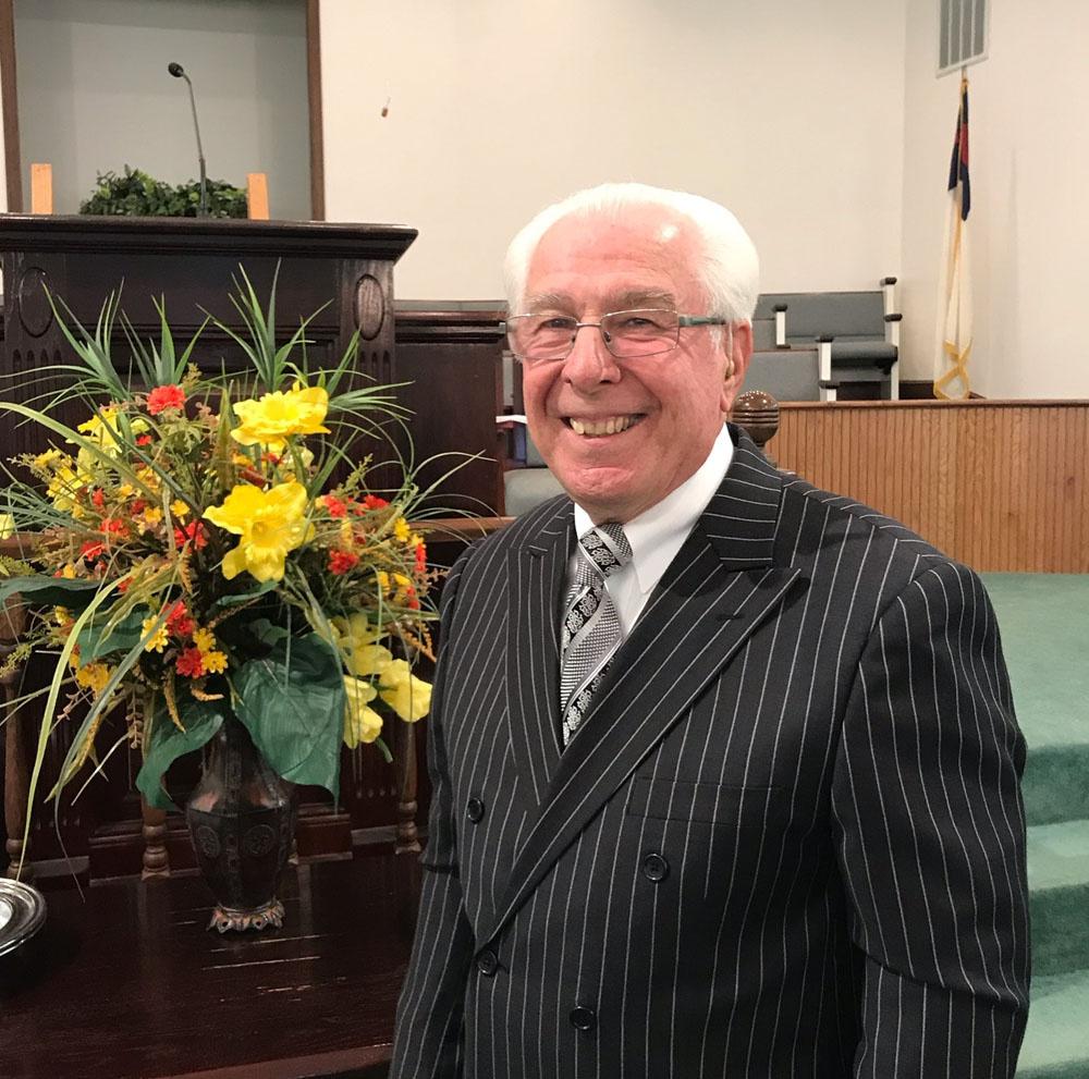 Pastor John Reynolds