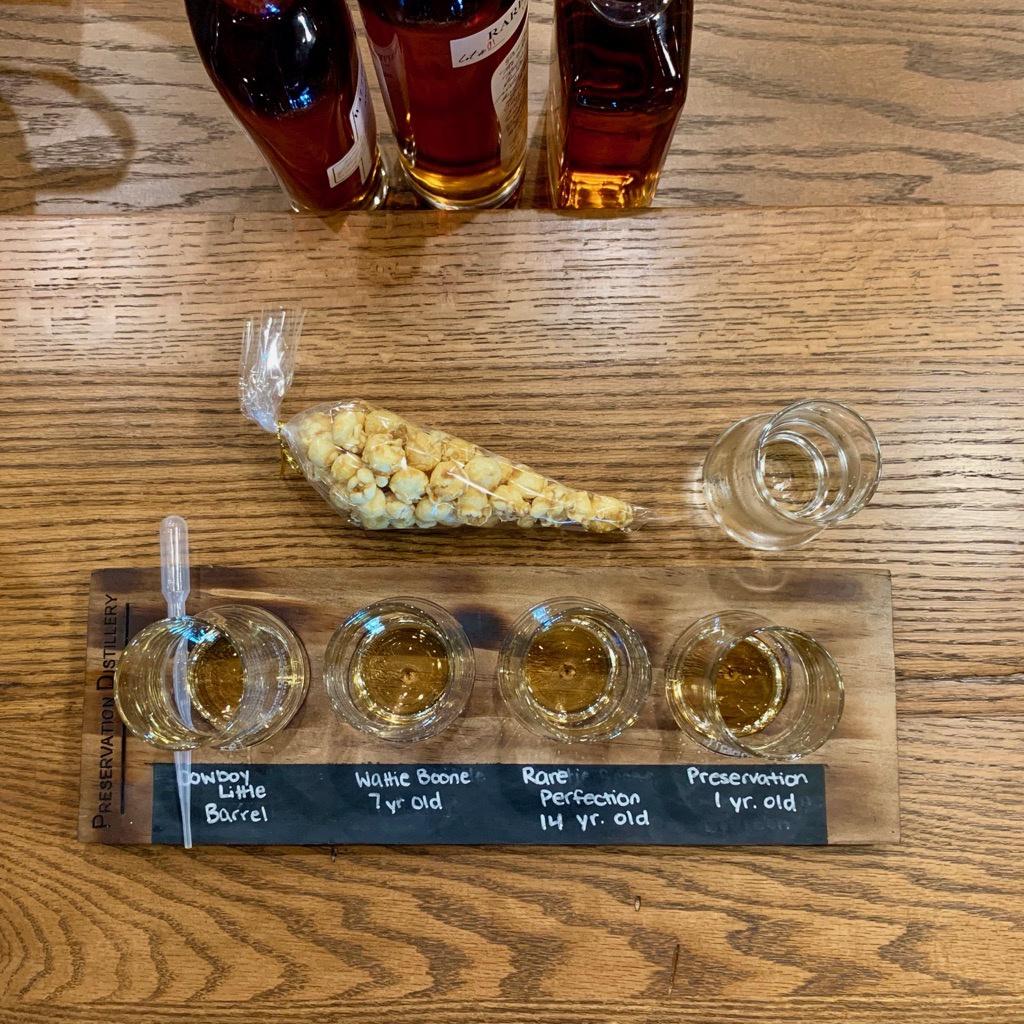 Whiskey Tasting - Preservation Distillery