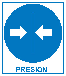 Icono presión