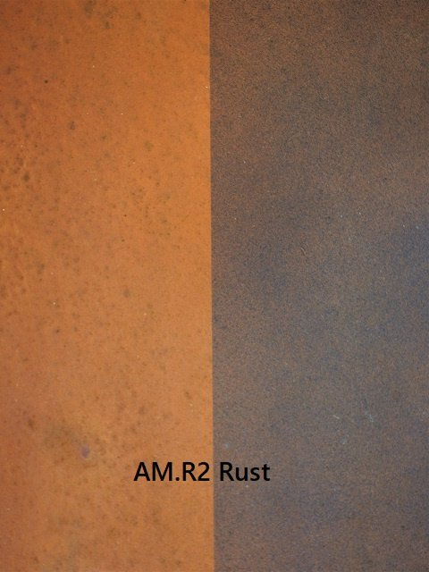 Patination AM.R2 Rust Artistic Metals