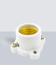 SY-517 Portalámpara Porcelana Cuadrada