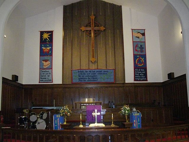 Sanctuary Chancel Area