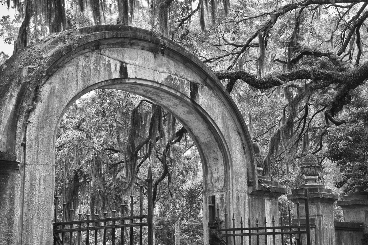 Wormsloe Entry Gate