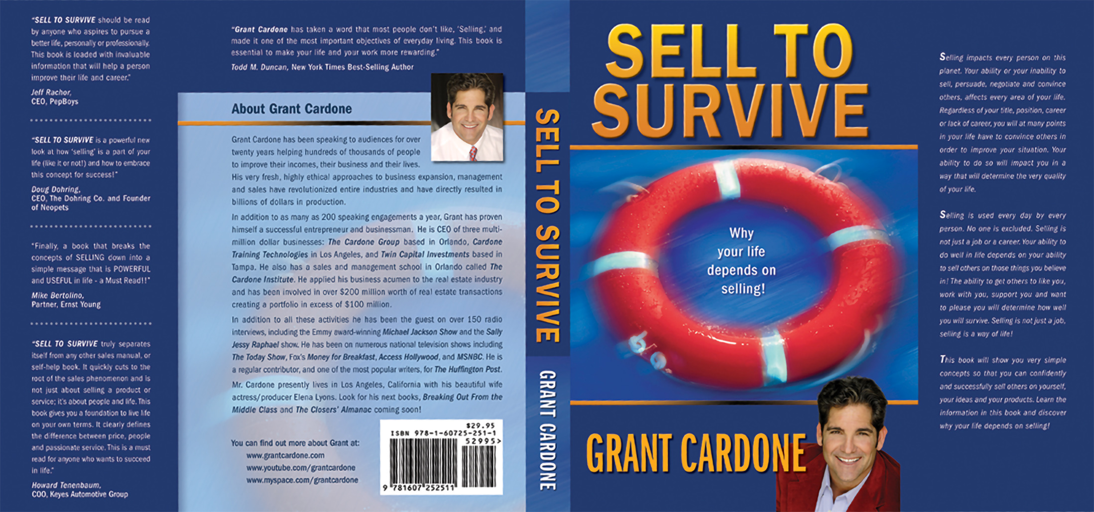 Sell To Survive | Grant Cardone Dust Jacket