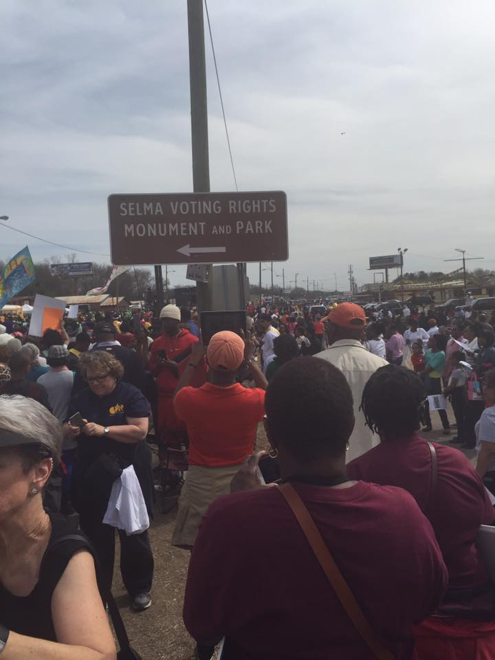 Selma Voting Rights Protest