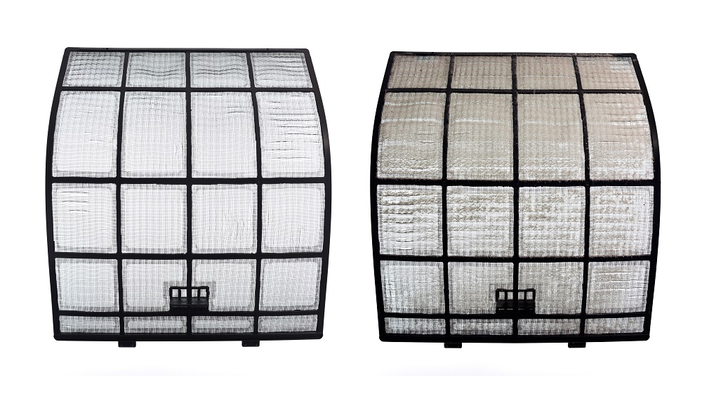 Dirty and clean filters