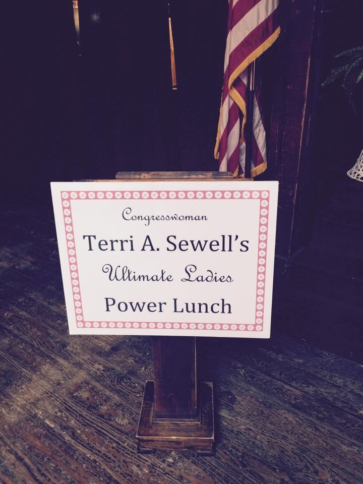 Terri Sewell Banner