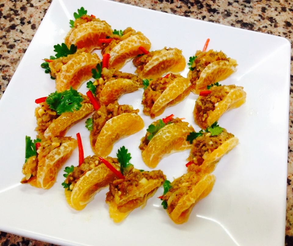 Thai Orange Appetizer