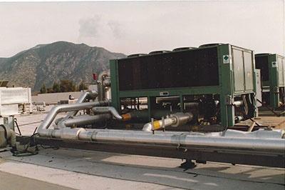 HVAC Unit Pipe on Roof 3