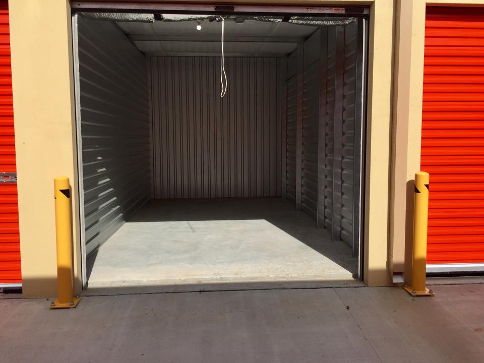 Empty Storage Unit