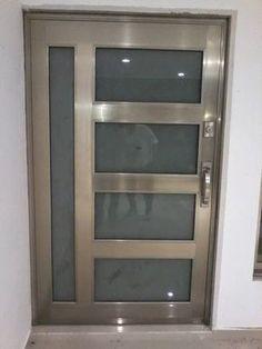 Vidrios y Aluminios del Pueblo - Puertas de entrada Aluminio