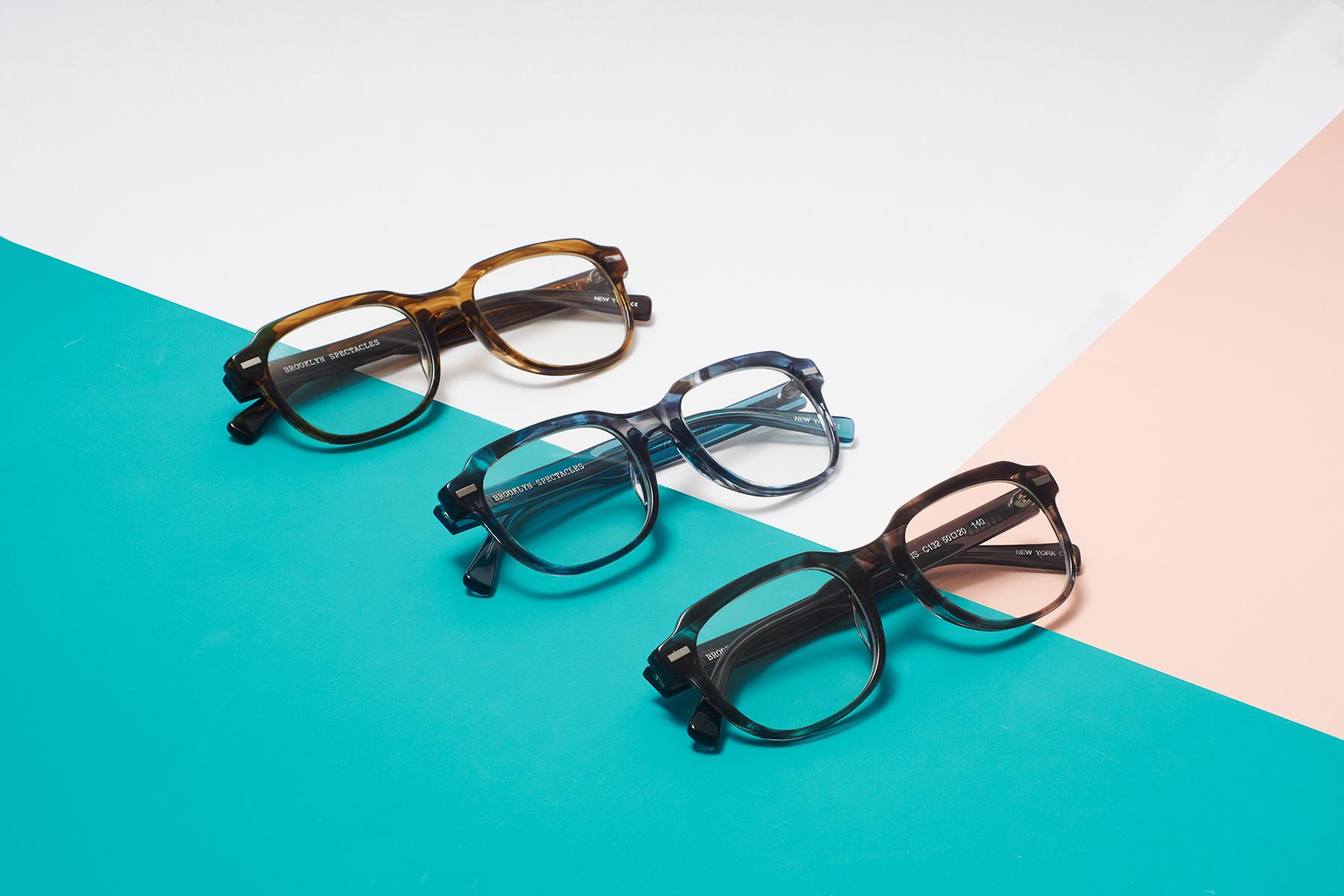 Three Pairs of Eyewear 1