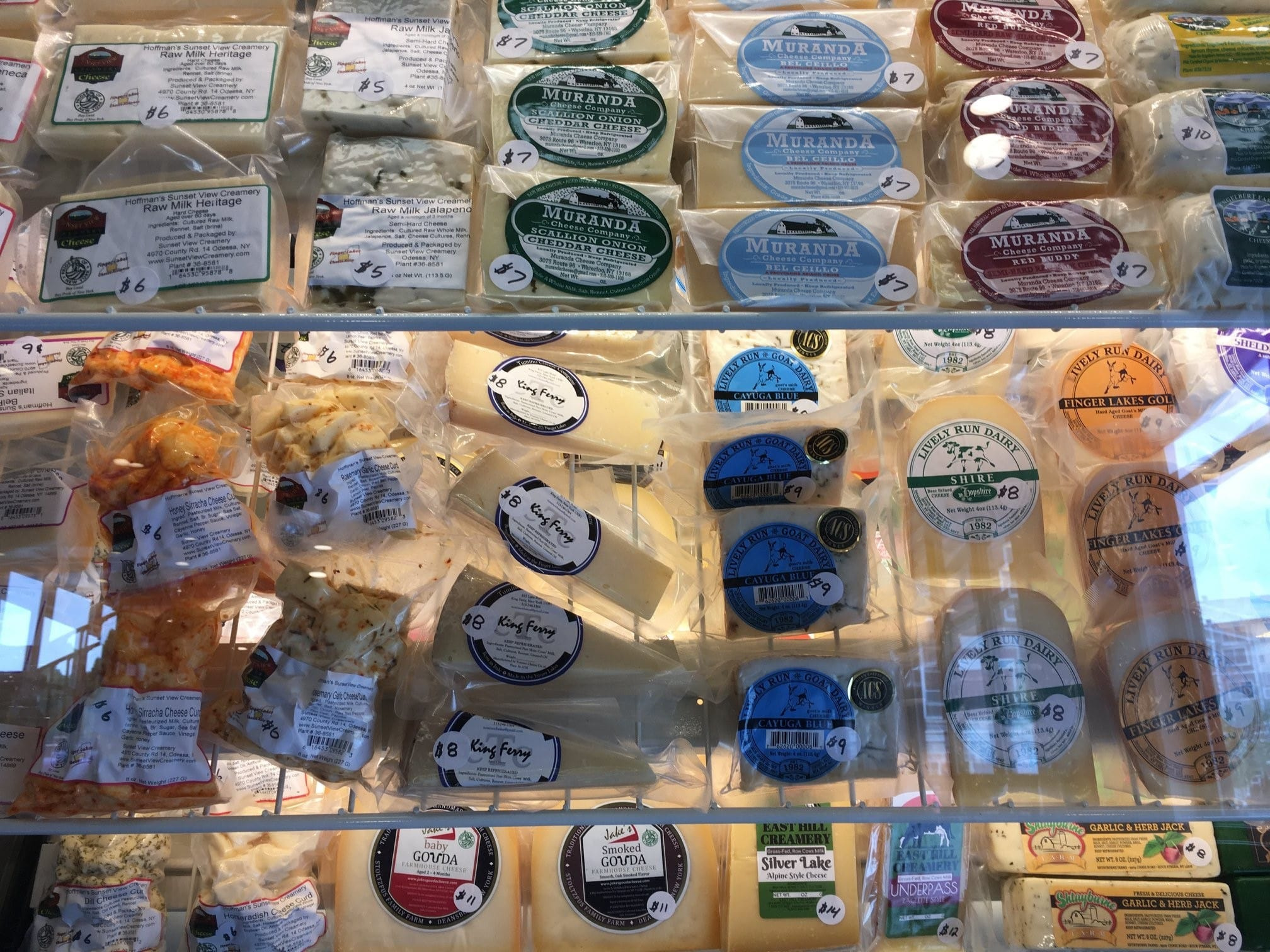 Various Cheese Products