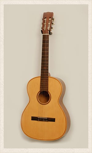 Light Wood Acoustic Guitar