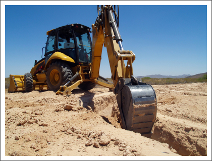 Quality excavator working in site||||