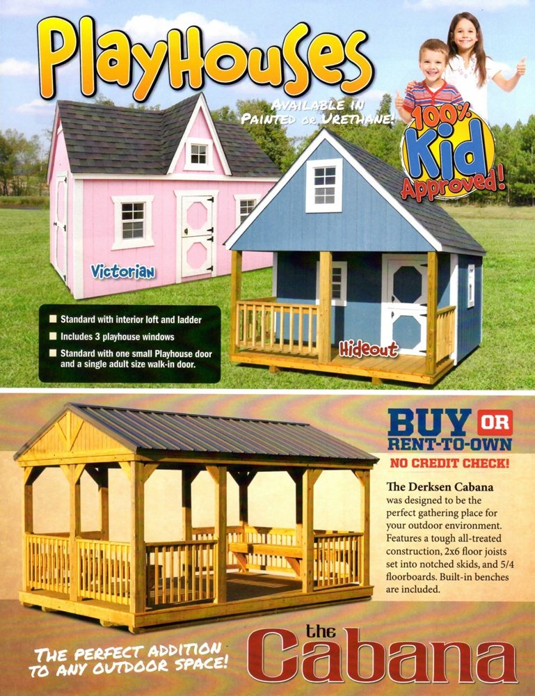 Storage Buildings, Storage Sheds, Carports and Garages for