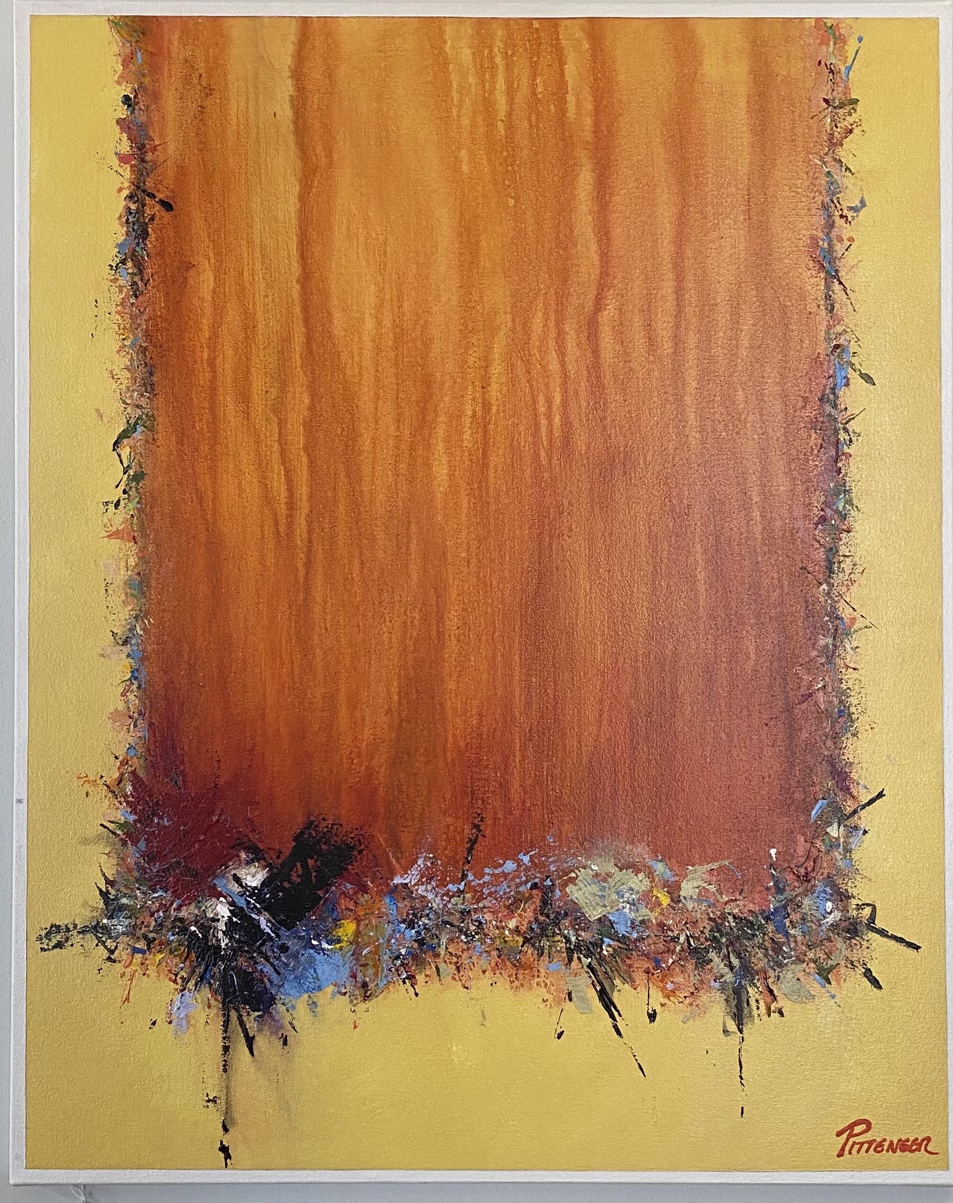 "Abstract Acrylic 24"" X 30"" $265."
