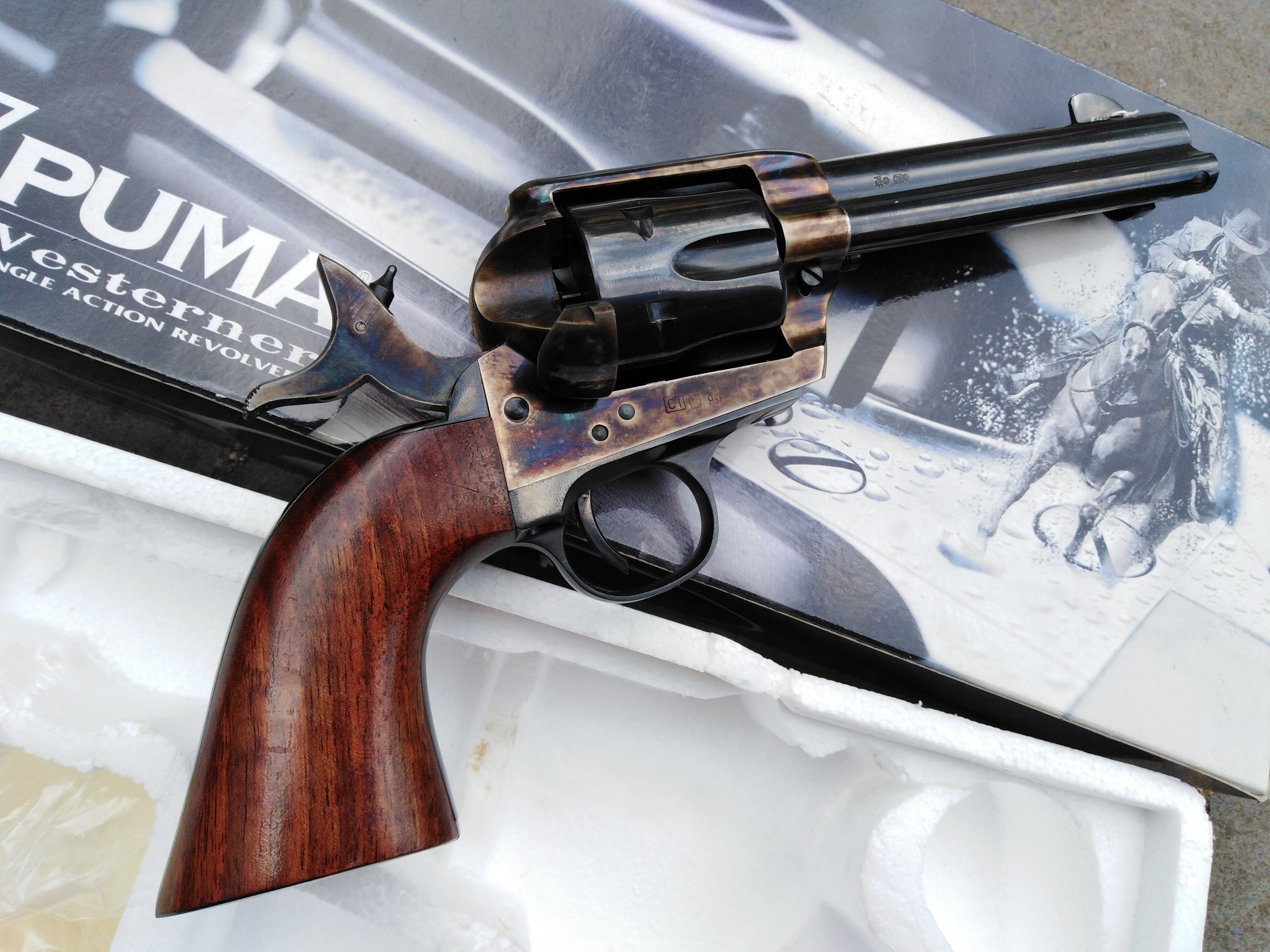 Pietta Colt SAA Full Steel 4 3/4 inch