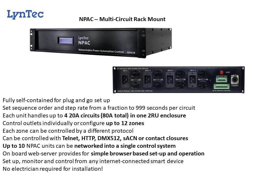 LYNTEC NPAC Automated Circuit Control