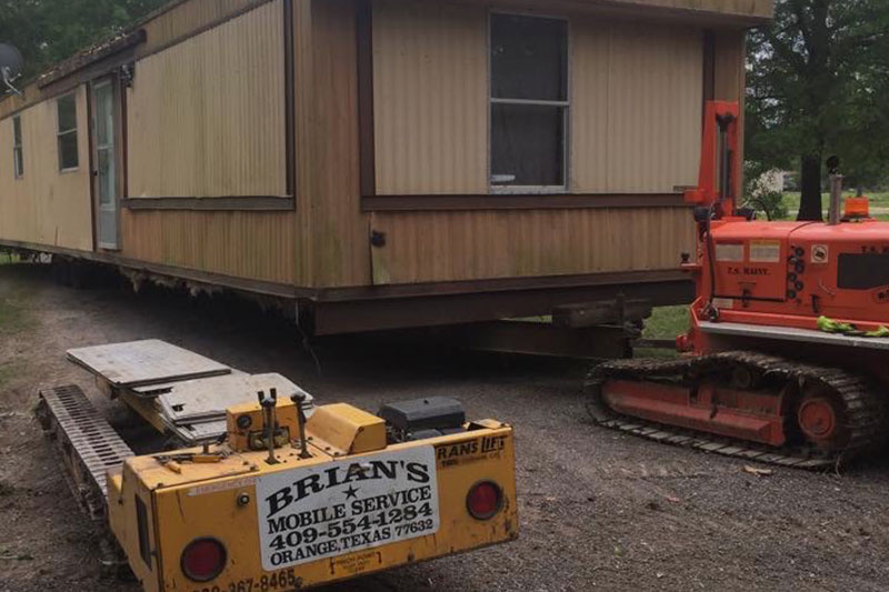 Moving of a Modular Building