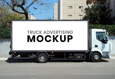 Truck for Advertising