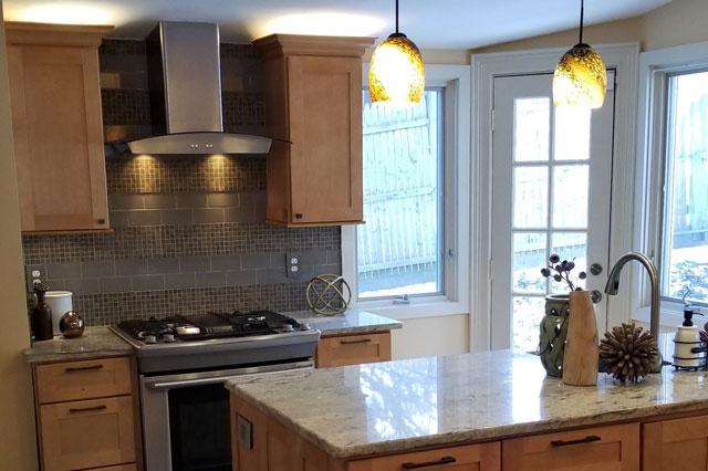 Remodeled Kitchen Room