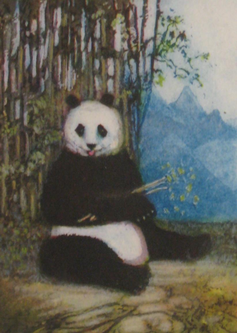 Genevieve Roberts, Panda Snacktime