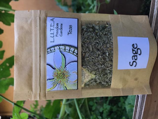 Sage tea/herbs