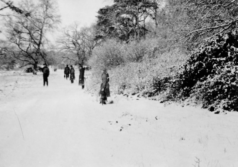 Lackford Shoot January 1945